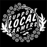 Support Local Farmers T-shirt - Coral's Coral