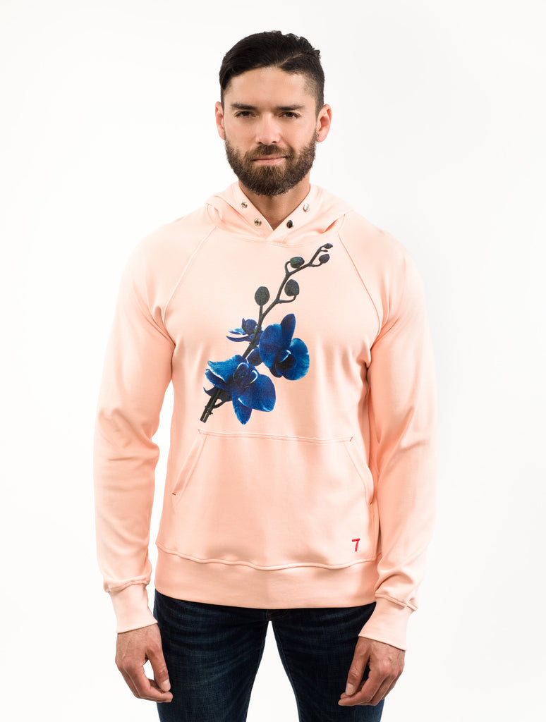 Blue Orchid Pullover Hoodie