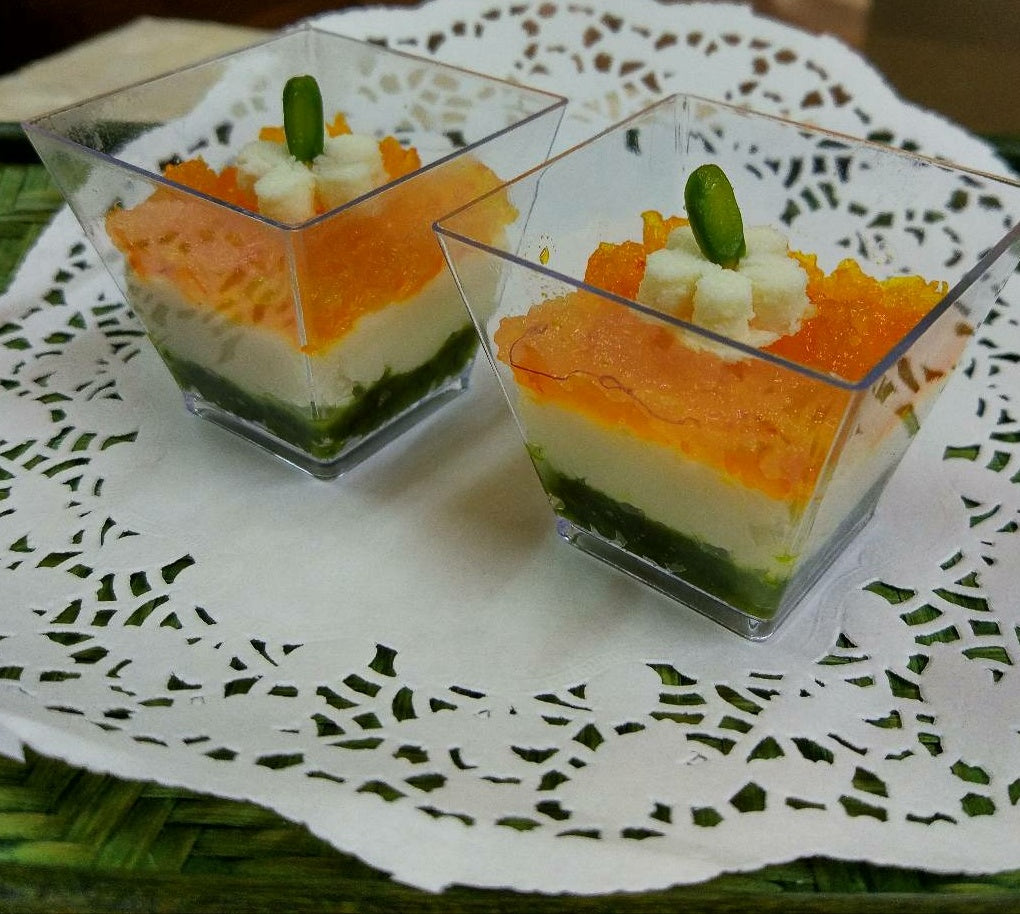 Tri Colour Sandesh (for delivery in Mumbai Only) - Vedic Spoons