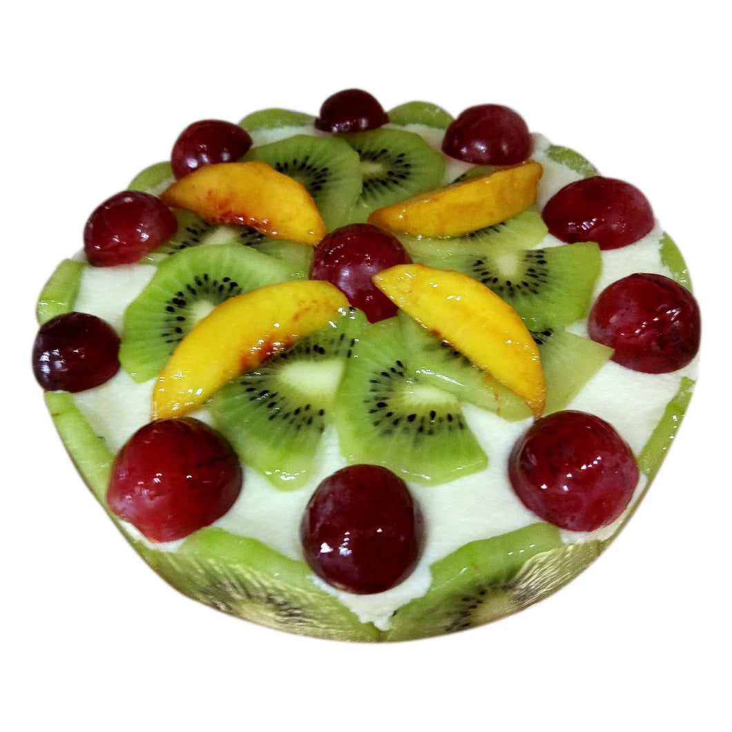 Peach & Kiwi Sandesh Cake (for delivery in Mumbai Only)