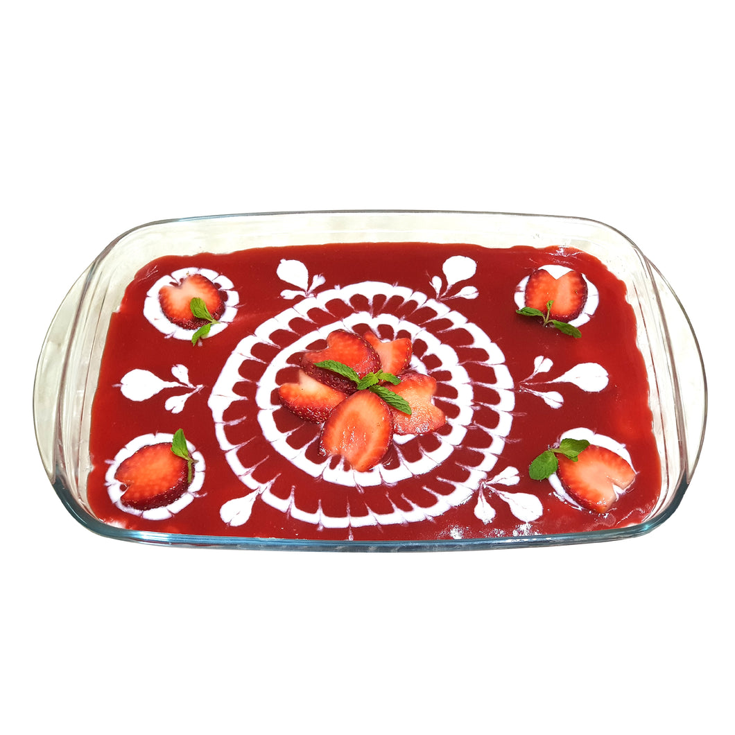 Strawberry Sandesh Cake (for delivery in Mumbai Only) (available from Dec to Feb)