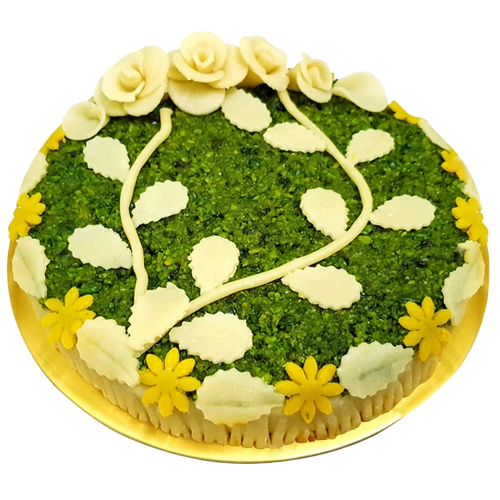 Badam Pista Cake stem design (for Mumbai)