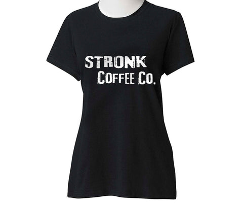 Stronk Coffee Co. - Next Level Black Stronk Coffee Block logo