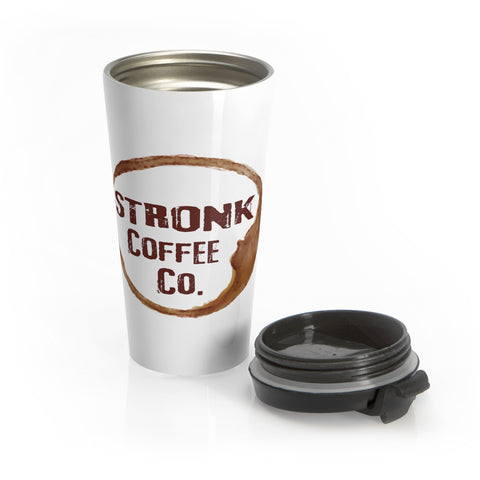 Stronk Coffee Stainless Steel Travel Mug