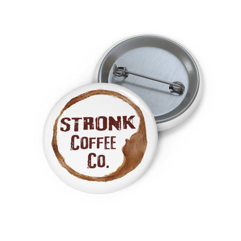 Stronk Coffee Pin Buttons