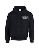 Stronk Coffee Co. - Black Hoodie Pullover
