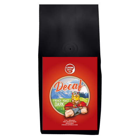 Stronk Coffee Co. - Decaf French Dark Roast