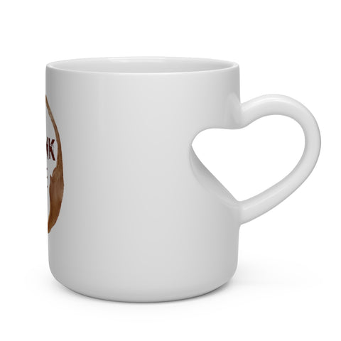 Stronk Coffee Heart Shape Mug