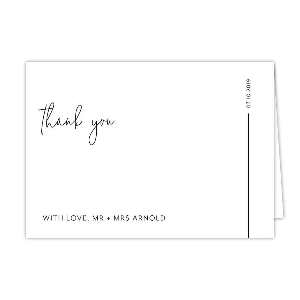 Blessed Thank You Card