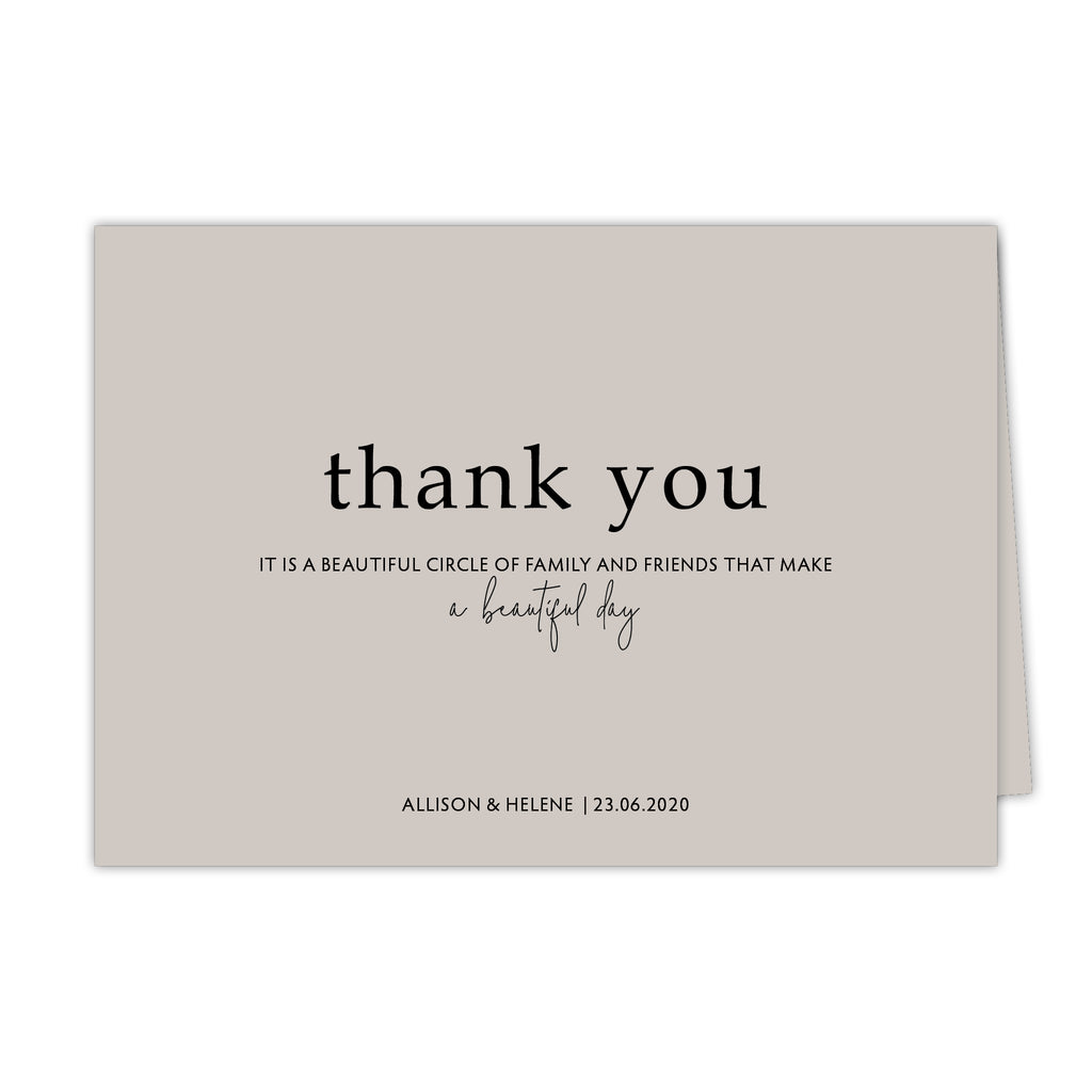 Dream Thank You Card