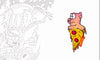 PIZZA PIG STICKER