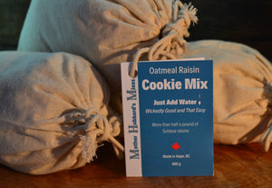 Oatmeal Raisin Cookie Mix, 890g