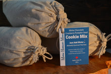 Load image into Gallery viewer, White Chocolate Cranberry Pumpkinseed Cookie Mix, 830g