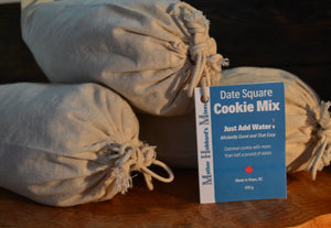 Date Square Cookie Mix, 870g