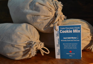 Triple Chocolate Cookie Mix, 935g