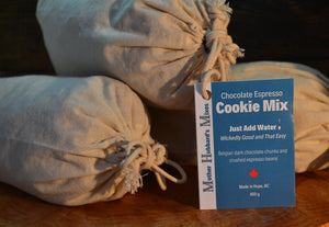 Espresso Chocolate Chunk Cookie Mix, 835g