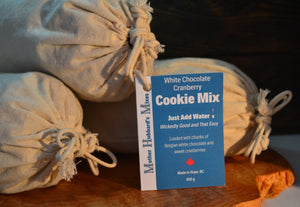 White Chocolate Cranberry Cookie Mix, 850g