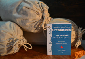 Milk Chocolate Fudge Brownie Mix, 740g