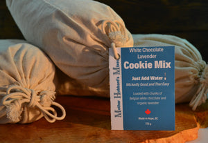 White Chocolate Lavender Cookie Mix, 665g