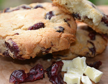 Load image into Gallery viewer, White Chocolate Cranberry Cookie Mix, 850g