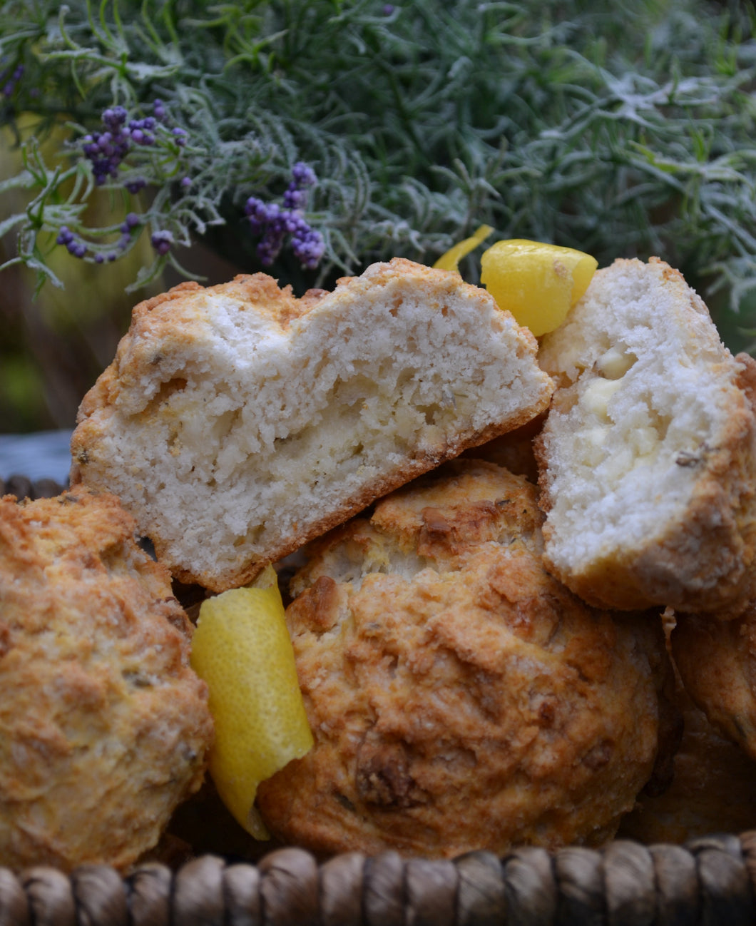White Chocolate Lavender Scone Mix, 680g