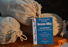 Load image into Gallery viewer, White Chocolate Lavender Scone Mix, 680g