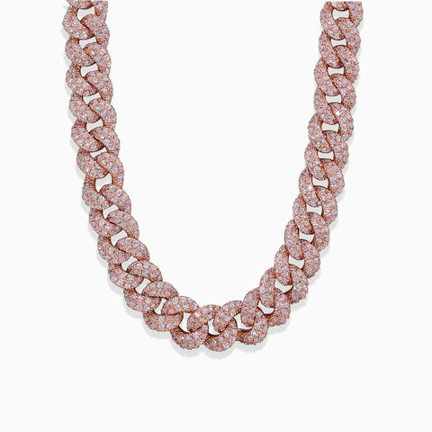 Mini Cuban Necklace - Rose Gold