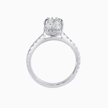 ATHENA | 3ct Oval Cut Ring