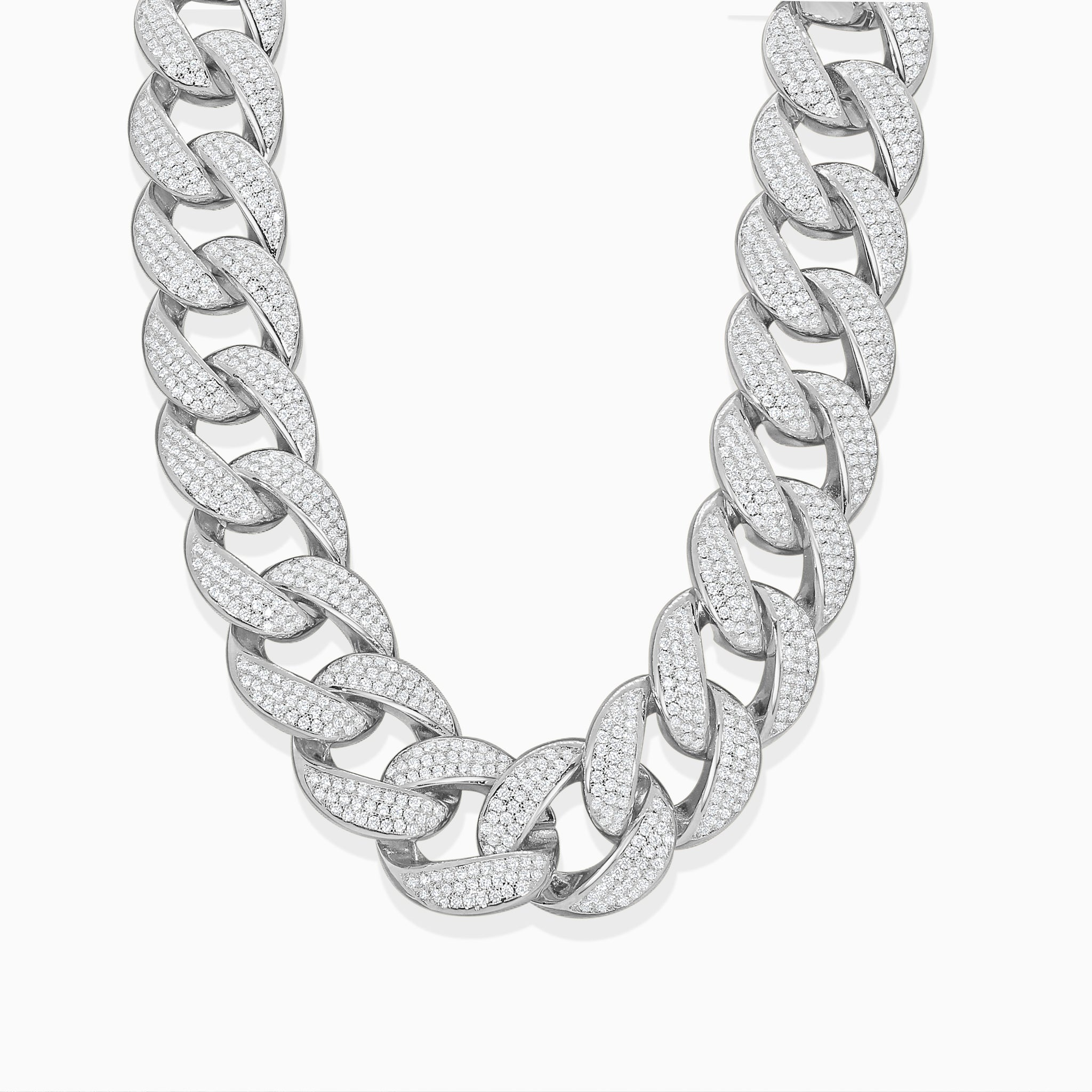 Cuban Choker Necklace - Silver