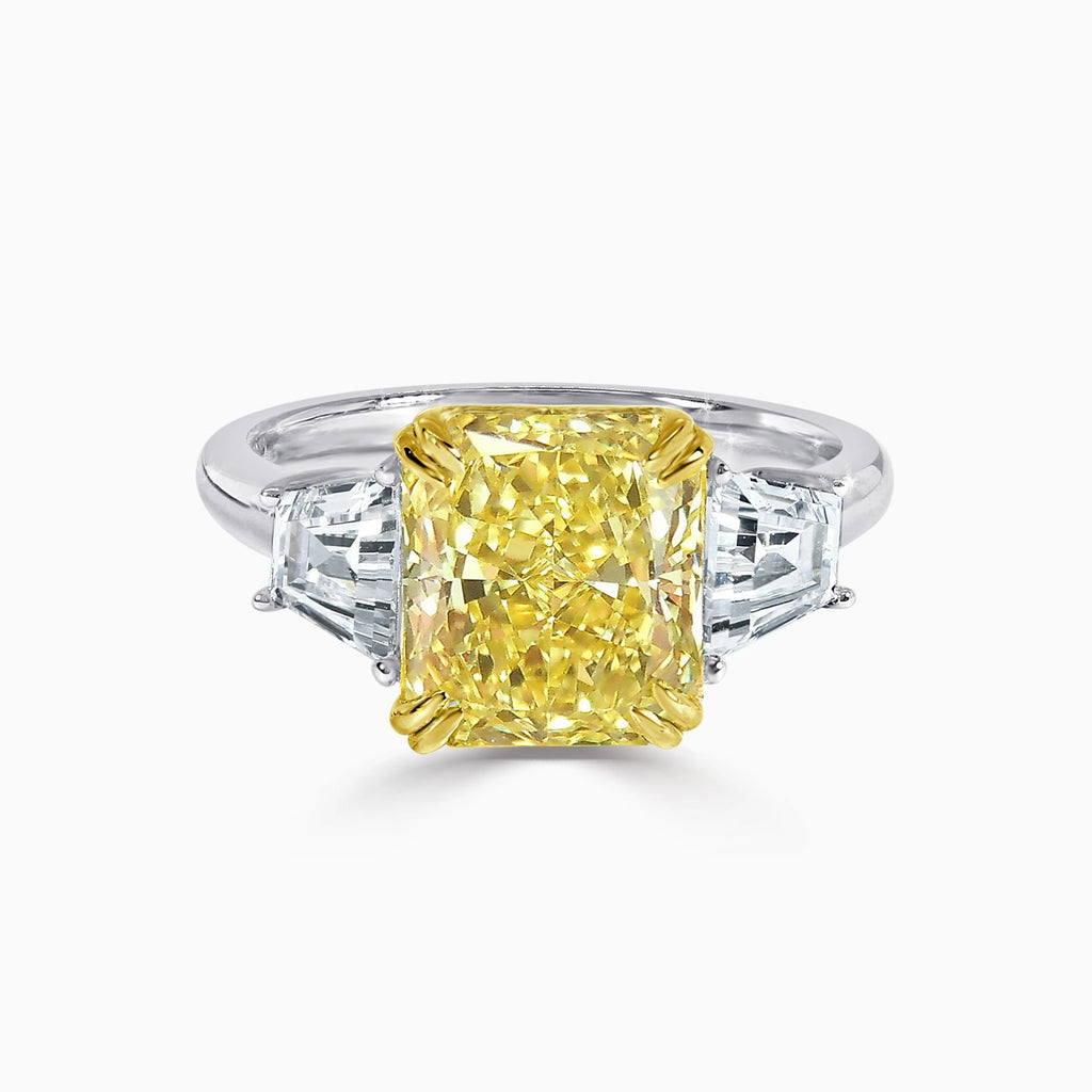LETO | 3ct Yellow Radiant Cut Ring