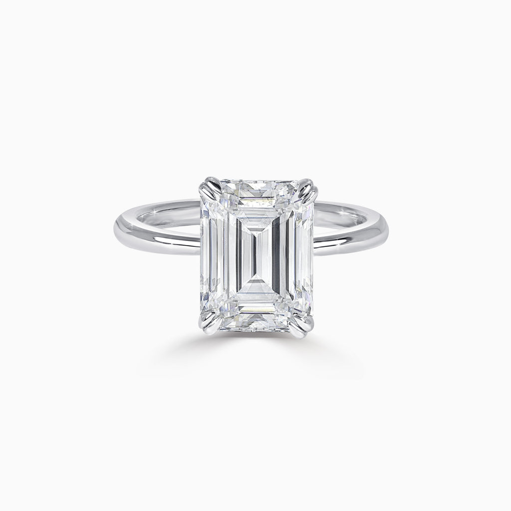 ERIS | 3ct Emerald Cut Ring