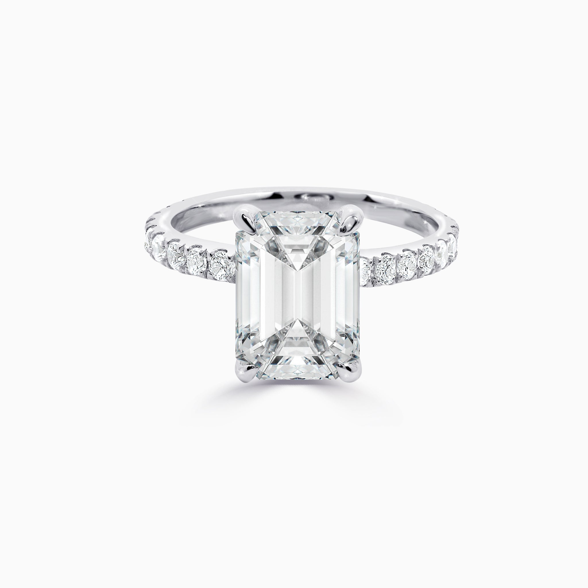 AURA | 2ct Emerald Cut Ring