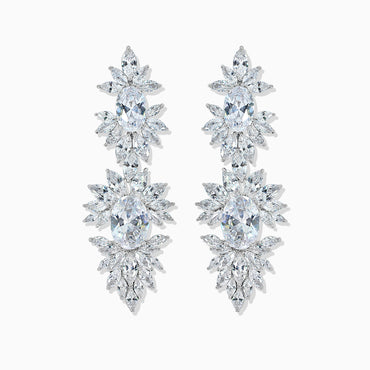 Oval & Marquise Cut Earring
