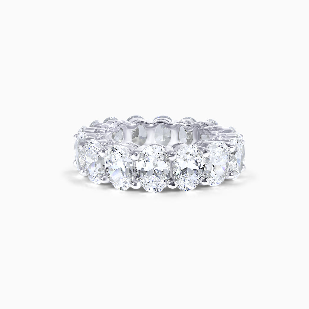 Oval Cut Eternity Band