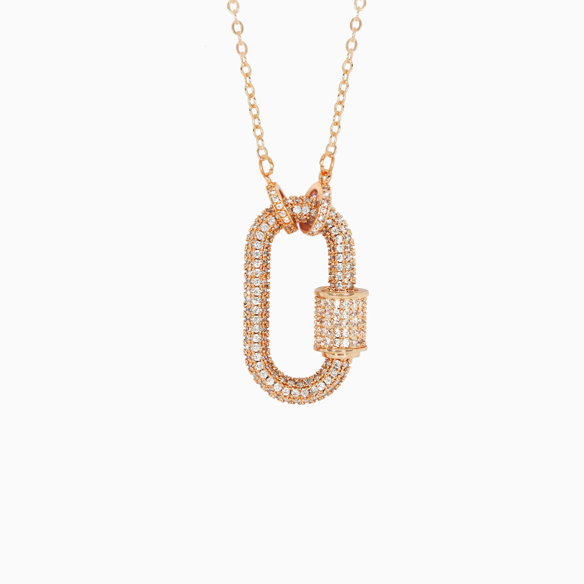 Adonis Pendant - Rose Gold
