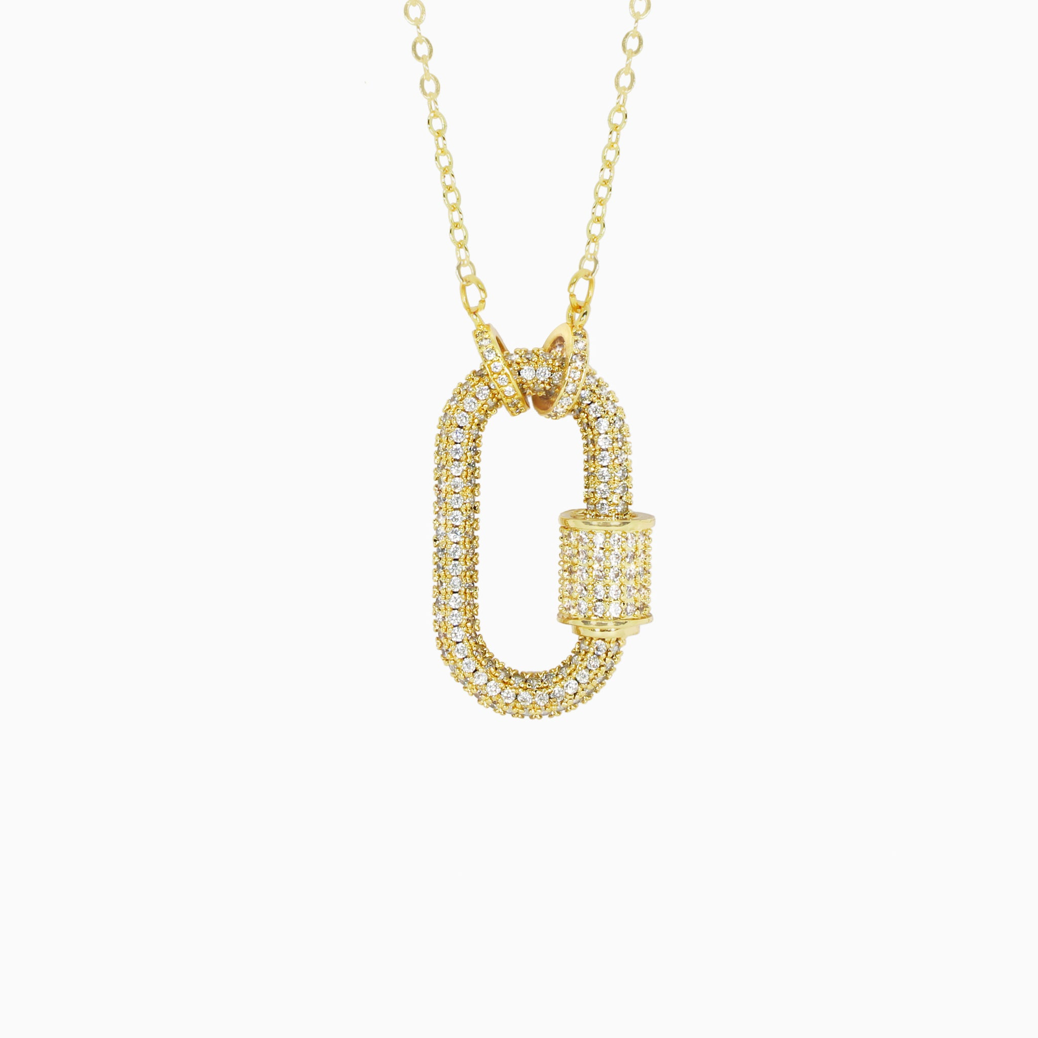 Adonis Pendant - Yellow Gold