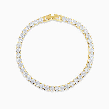 Mini Tennis Bracelet - Gold