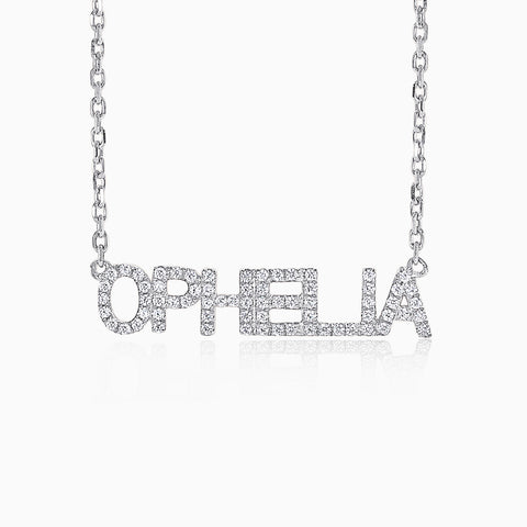 Personalised Necklace - Sterling Silver