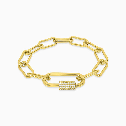 Nilus Bracelet - Yellow Gold