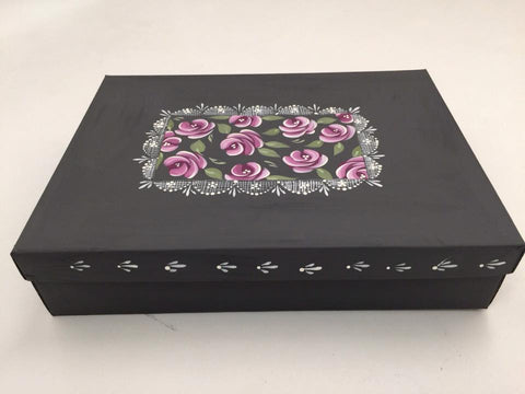 Use your completed box as an alternative to gift wrap or keep it for yourself.