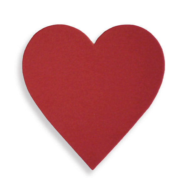 Beaujolais Red Hearts - Pack Of 10