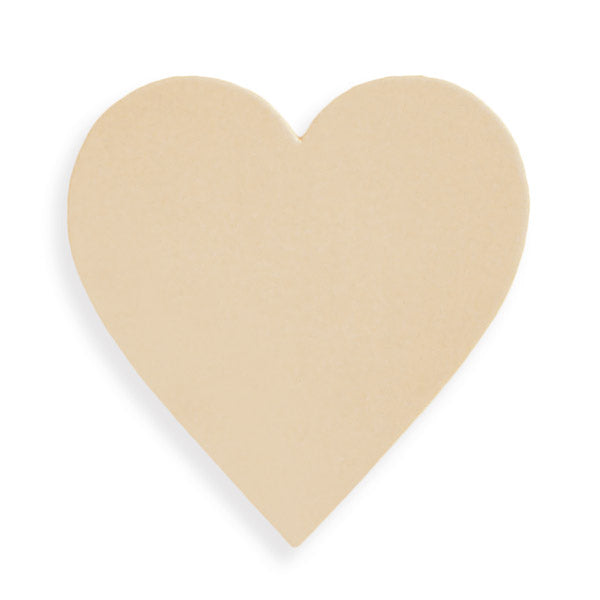 Light Stone Hearts - pack of 10