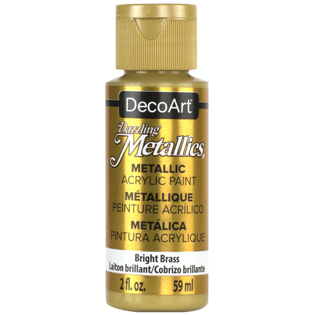 Bright Brass 2oz Metallic