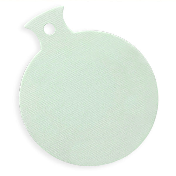 Ice Blue baubles - pack of 10