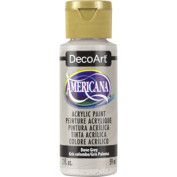DecoArt Americana acrylic in Dove Grey - perfect for Folk Art painting