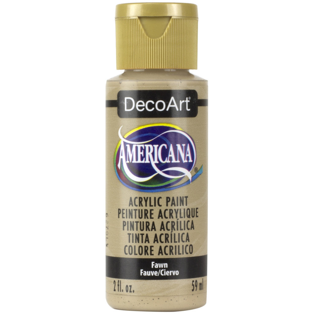DecoArt Americana acrylic in Fawn - perfect for Folk Art painting