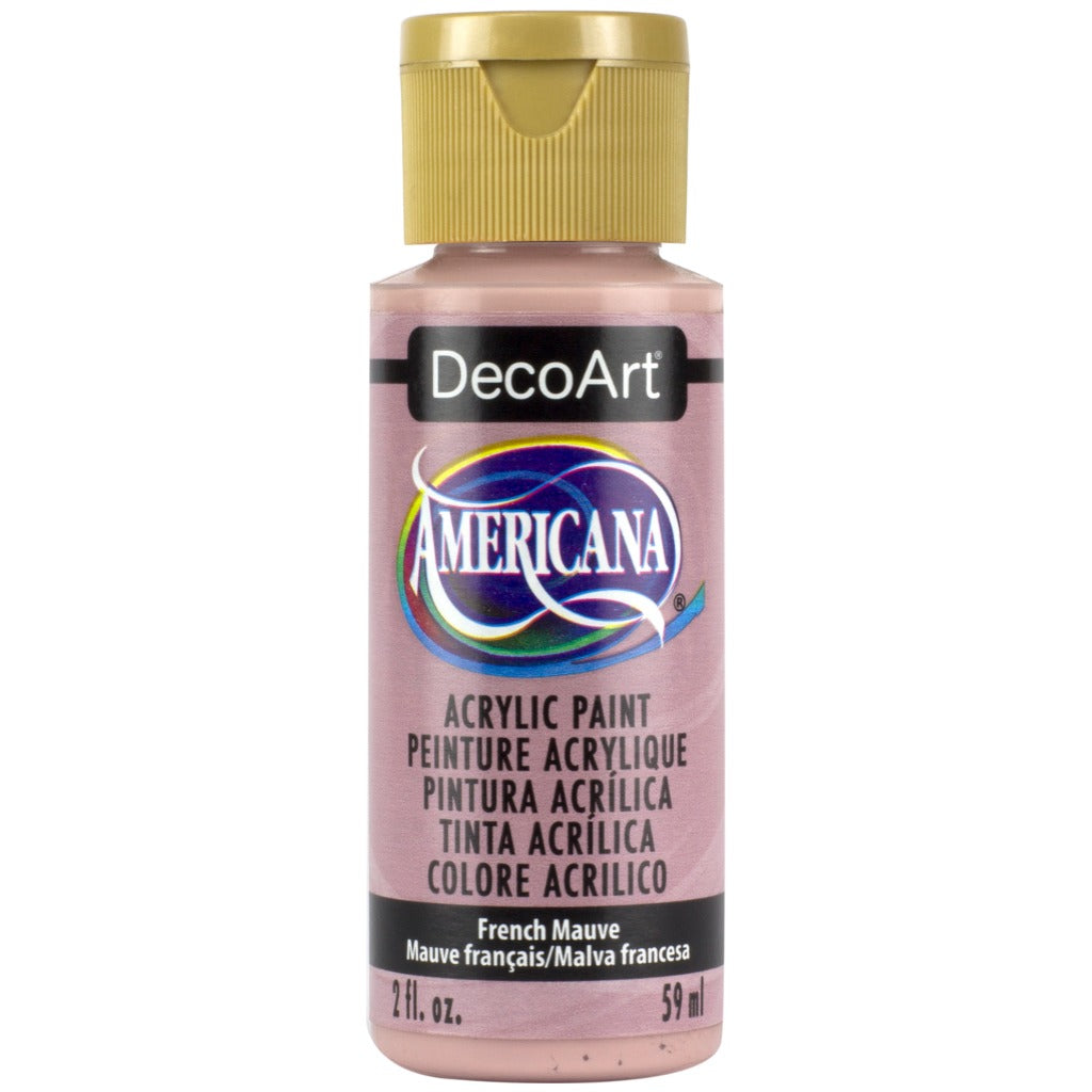 DecoArt Americana acrylic, French Mauve, folk art paint, painting