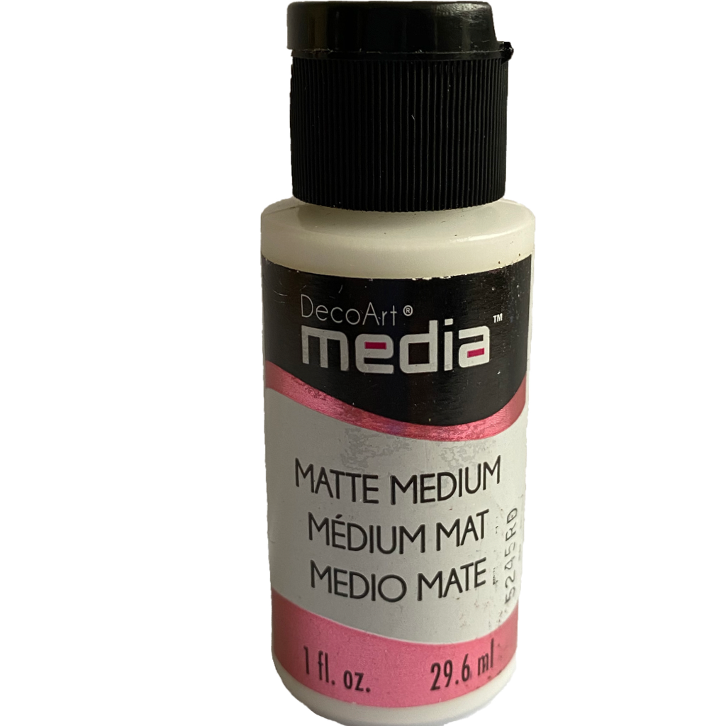 DecoArt Matte Medium 1oz bottle
