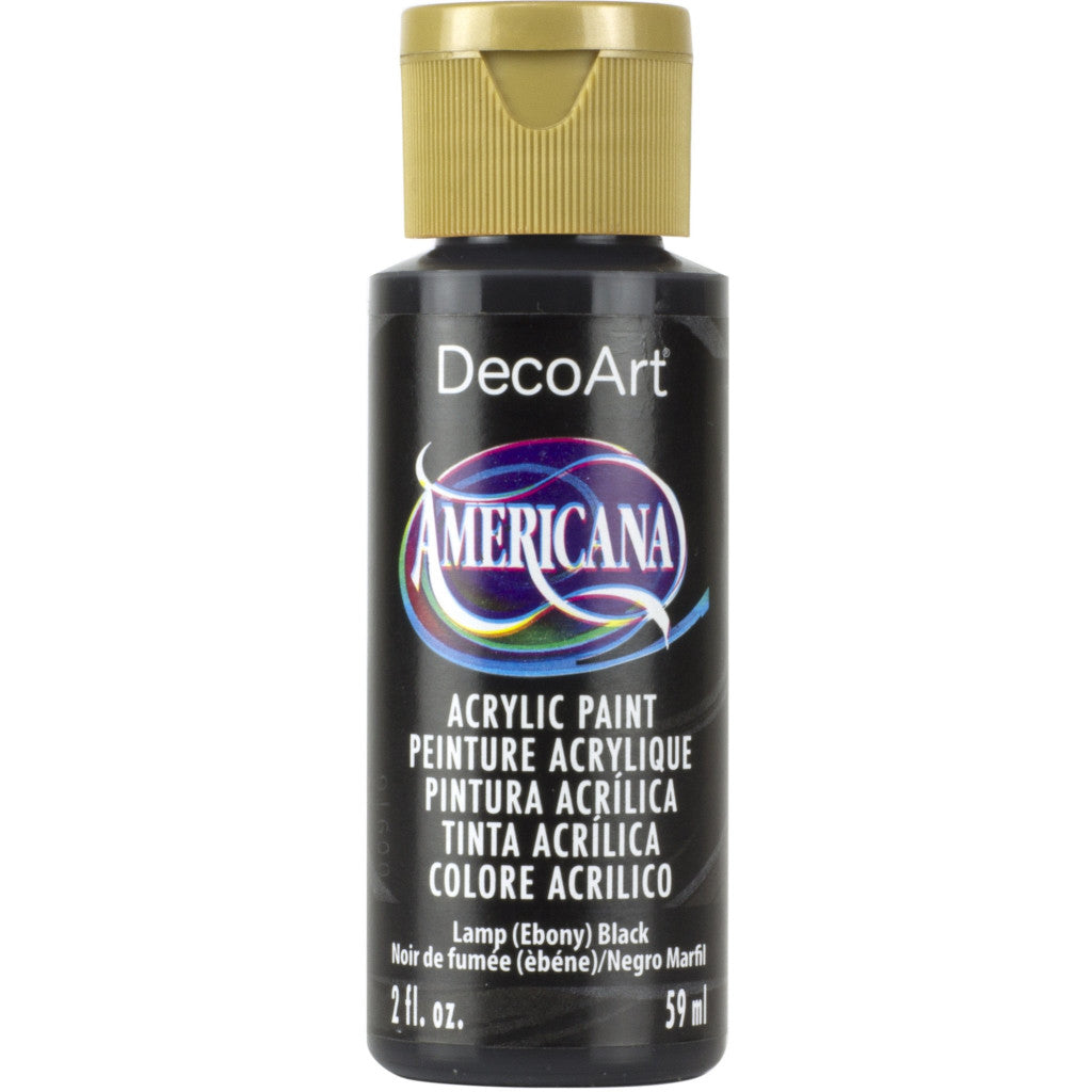 Lamp (Ebony) Black 2oz Americana