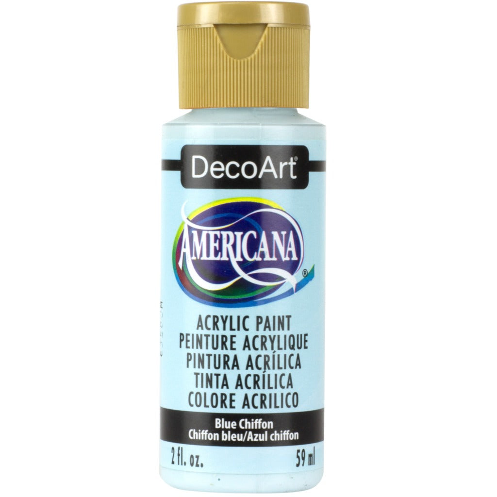 DecoArt Americana in Blue Chiffon - 2oz bottle